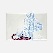 5-santorini_t_shirt Magnets