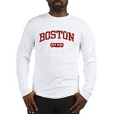 Boston Long Sleeve T-shirts