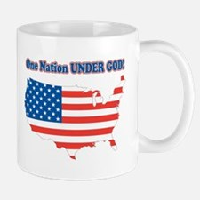 One Nation Under God Mug