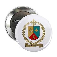 BROUILLARD Family Crest Button