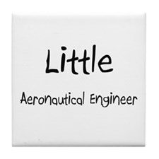Little Aeronautical Engineer Tile Coaster