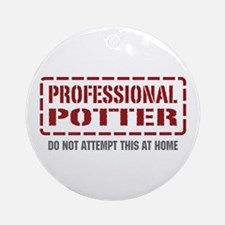 Professional Potter Ornament (Round)