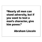 Abraham Lincoln Power Quote Small Poster