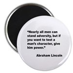 Abraham Lincoln Power Quote Magnet