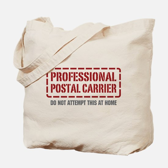Professional Postal Carrier Tote Bag