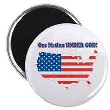 "One Nation Under God 2.25"" Magnet (10 pack)"