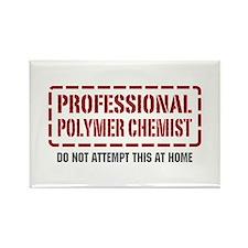 Professional Polymer Chemist Rectangle Magnet