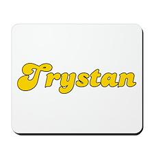 Retro Trystan (Gold) Mousepad