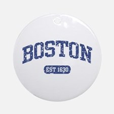 Boston EST 1630 Ornament (Round)