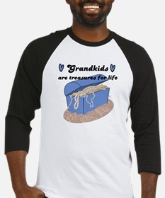 GRANDKIDS ARE TREASURES FOR LIFE! Baseball Jersey