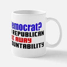 """""""What Is A Democrat?"""" Mug"""