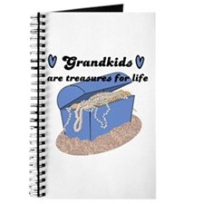 GRANDKIDS ARE TREASURES FOR LIFE! Journal