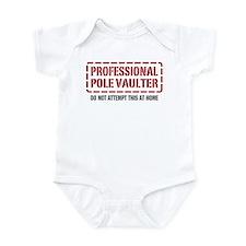 Professional Pole Vaulter Infant Bodysuit