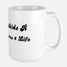 GRANDKIDS ARE TREASURES FOR LIFE! Large Mug