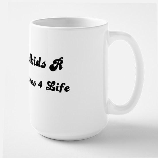 GRANDKIDS ARE TREASURES FOR LIFE! Large Mug