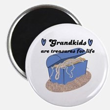 GRANDKIDS ARE TREASURES FOR LIFE! Magnet