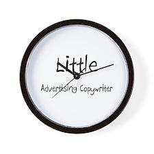 Little Advertising Copywriter Wall Clock