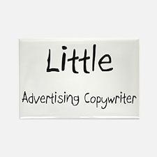 Little Advertising Copywriter Rectangle Magnet