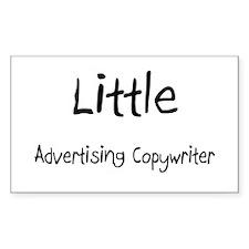 Little Advertising Copywriter Rectangle Decal