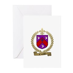 CAISSIE Family Crest Greeting Cards (Pk of 10)