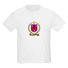 CAISSIE Family Crest Kids T-Shirt