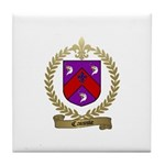 CAISSIE Family Crest Tile Coaster