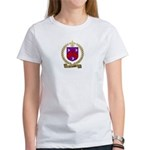 CAISSIE Family Crest Women's T-Shirt