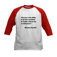 Churchill Success Quote (Front) Tee