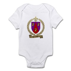 CAISSY Family Crest Infant Creeper