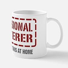 Professional Plasterer Mug