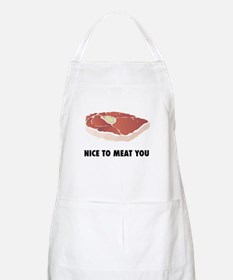 Nice To Meat You BBQ Apron