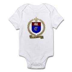 CANTIN Family Crest Infant Creeper