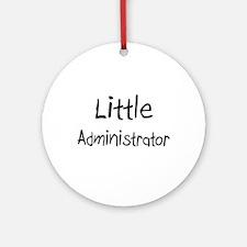 Little Administrator Ornament (Round)
