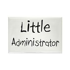 Little Administrator Rectangle Magnet