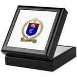 CANTIN Family Crest Keepsake Box