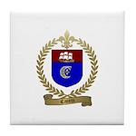 CANTIN Family Crest Tile Coaster