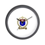 CANTIN Family Crest Wall Clock