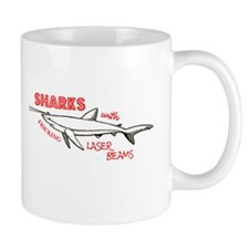 Sharks with Fricking Laser Be Small Mug