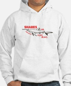 Sharks with Fricking Laser Be Hoodie