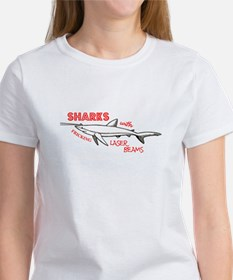 Sharks with Fricking Laser Be Tee