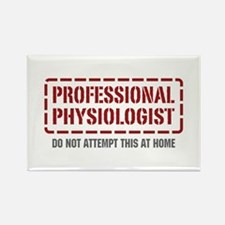 Professional Physiologist Rectangle Magnet
