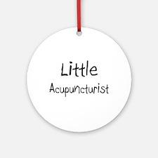 Little Acupuncturist Ornament (Round)