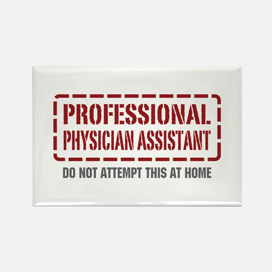 Professional Physician Assistant Rectangle Magnet