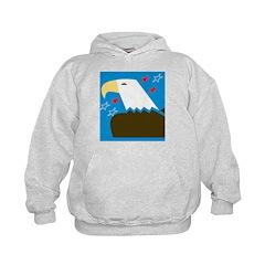 Stylized Eagle Hoodie