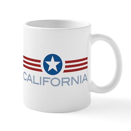 Star Stripes California Mug