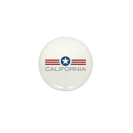 Star Stripes California Mini Button (10 pack)