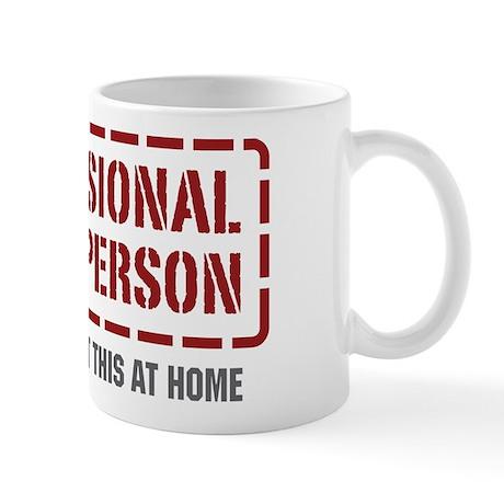Professional Phone Person Mug