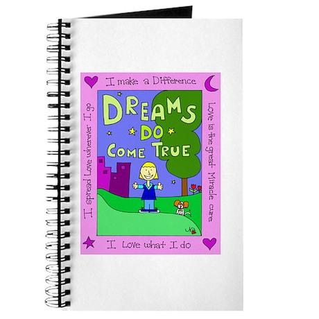 Dreams Do Come True Journal