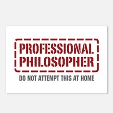 Professional Philosopher Postcards (Package of 8)