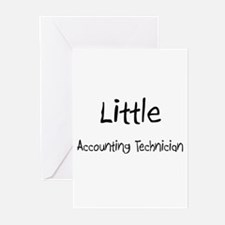 Little Accounting Technician Greeting Cards (Pk of